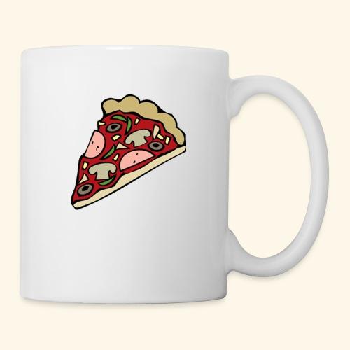 Pizza - Mug blanc