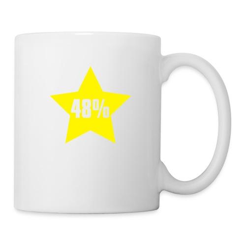 48% in Star - Mug