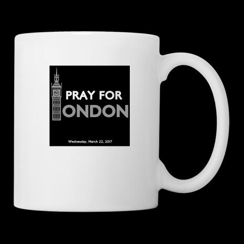 PRAY FOR LONDON - Mug blanc
