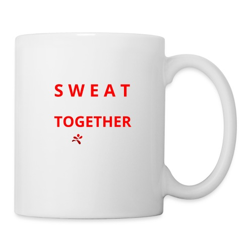 Friends that SWEAT together stay TOGETHER - Tasse
