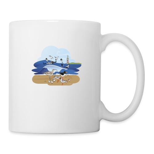 See... birds on the shore - Mug