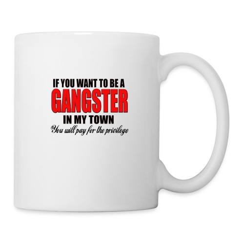 ville gangster - Mug blanc