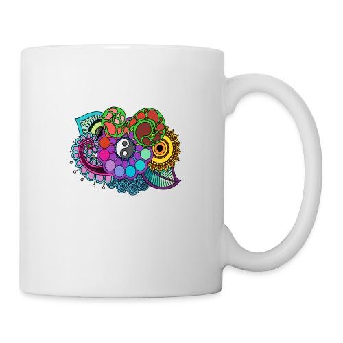 Coloured Nature Mandala - Mug