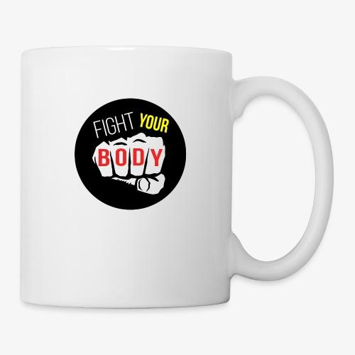 logo fyb noir - Mug blanc