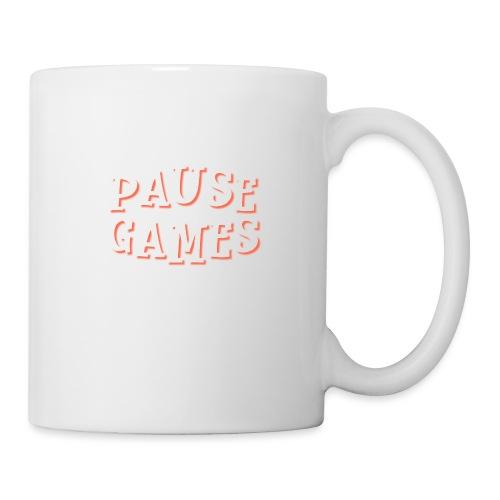 Pause Games Text - Mug