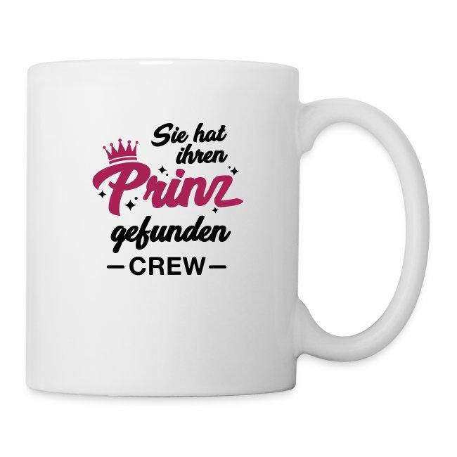 Braut T-Shirts - JGA T-Shirts   Sie hat ihren Prinz gefunden Crew ... 8ad9508803