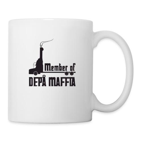 Depå Maffia svart tryck - Mugg