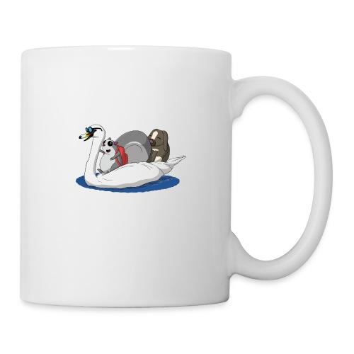 The Pudgy Squirrel - Swan - Mug