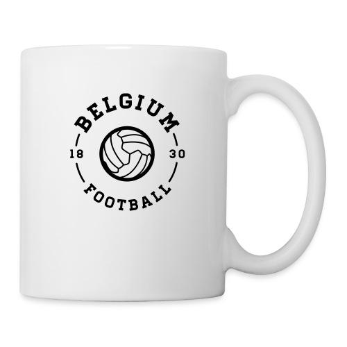 Belgium football - Belgique - Belgie - Mug blanc