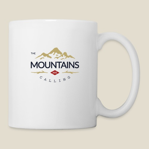 Outdoor mountain - Mug blanc
