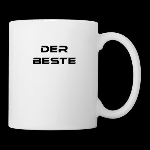 Der Beste schwarz - Tasse