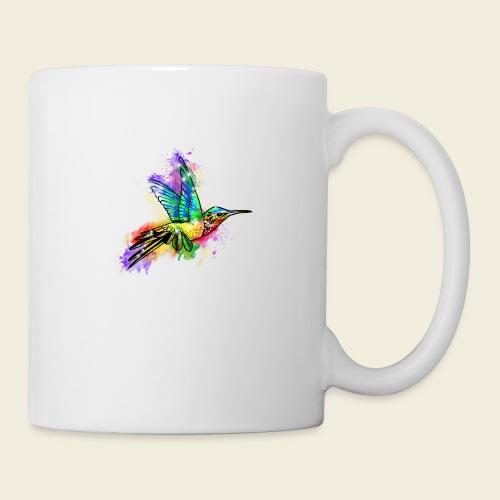 Farbexplosion Kolibri - Tasse