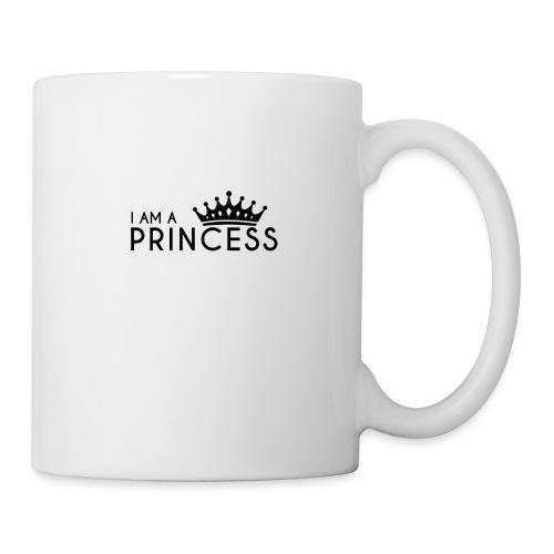 I AM A PRINCESS + KRONE - Tasse