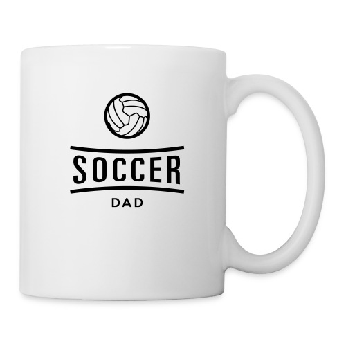 soccer dad - Mug blanc