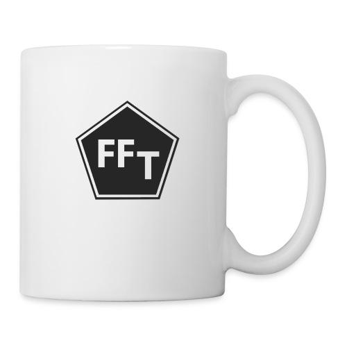 FFT B&W logo - Mug