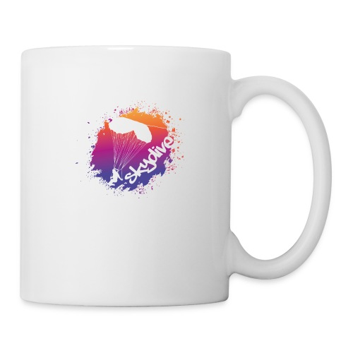 Skydive Watercolor - Tasse