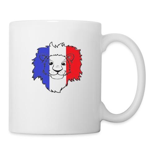 Lion France - Mug blanc