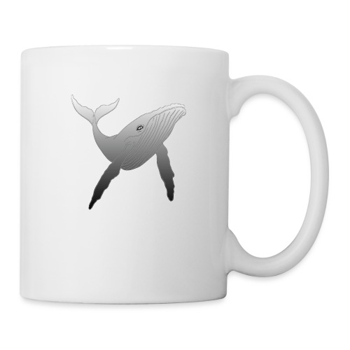 Baleine - Nature - Simple - SMPLY - Mug blanc