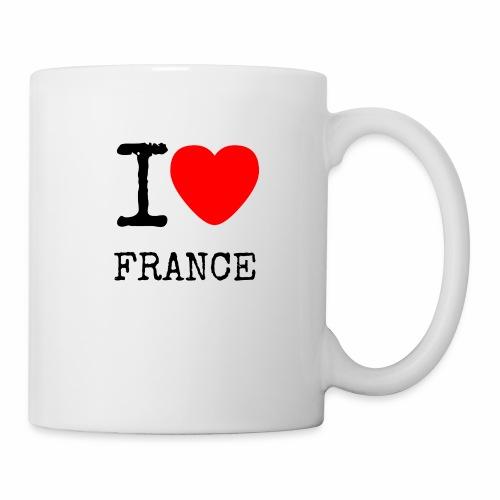 I Love France - Mug blanc