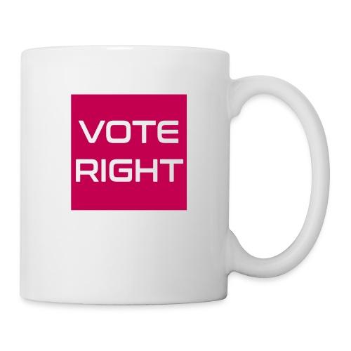 vote right - Tasse