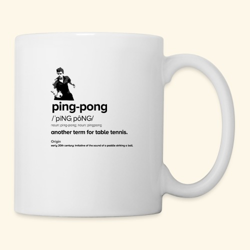 Ping Pong Meaning, Be A champion - Tasse