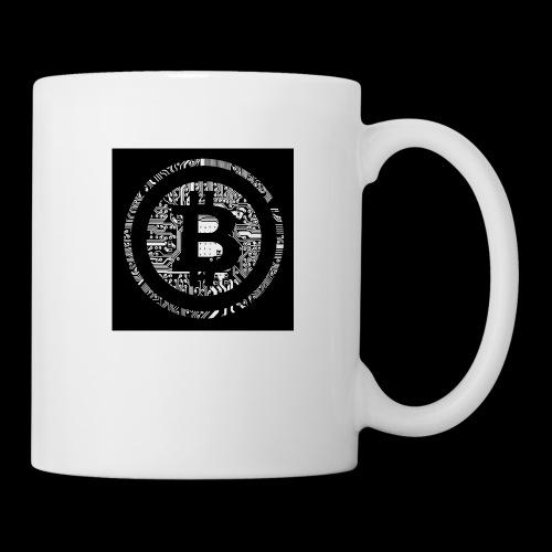 bitcoin logo - Tasse