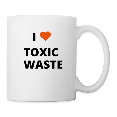 real genius i heart toxic waste - Mug