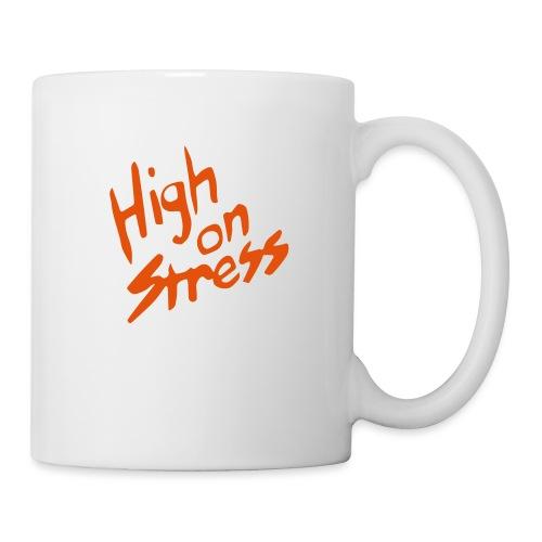 High on stress - Mug
