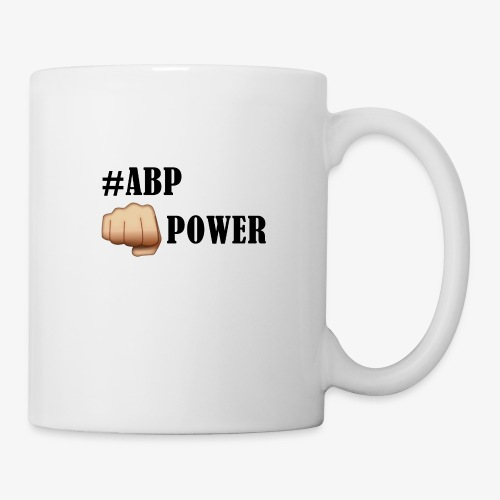 #ABP-POWER-NOIR - Mug blanc