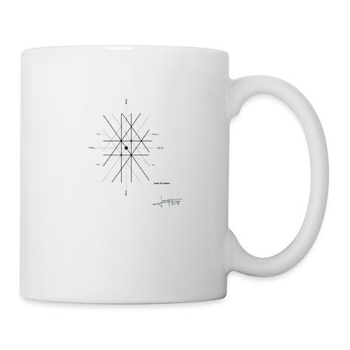 mathematique du centre_de_lunivers - Mug blanc