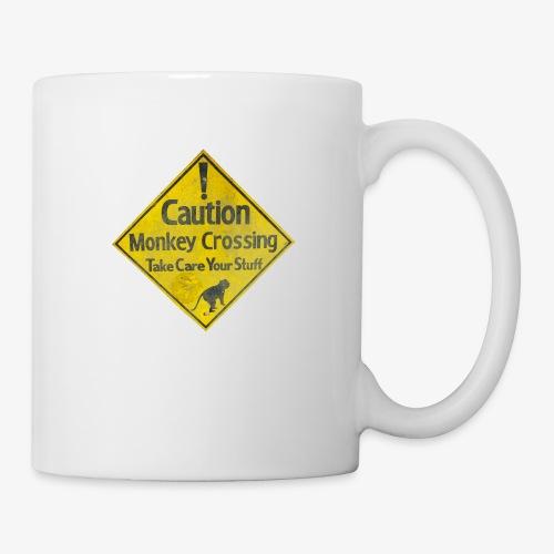 Caution Monkey Crossing - Tasse