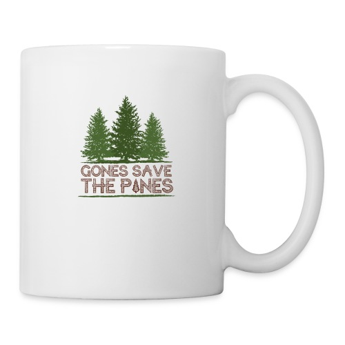 Gones save the pines - Mug blanc