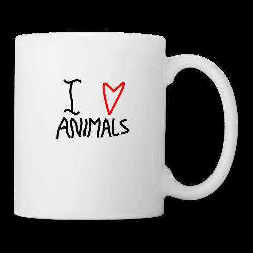 I Love Animals - Kop/krus