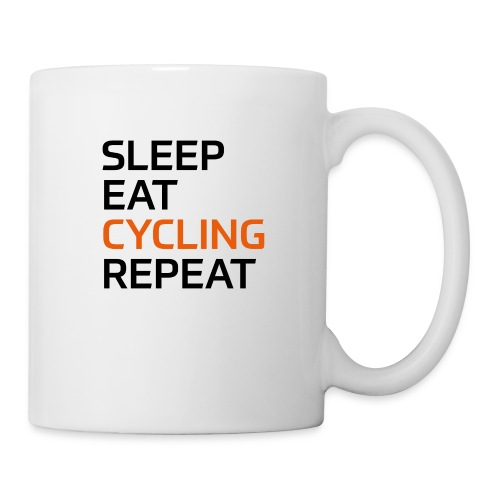 Eat Sleep Cycling Repeat - Tasse