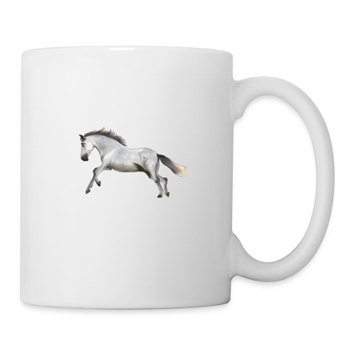 Valeroso horse - Mug blanc