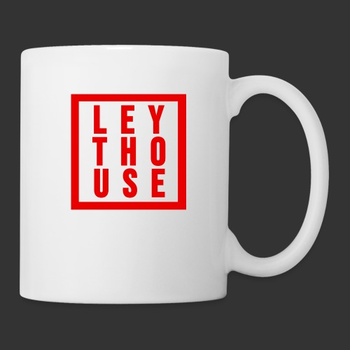 LEYTHOUSE Square red - Mug