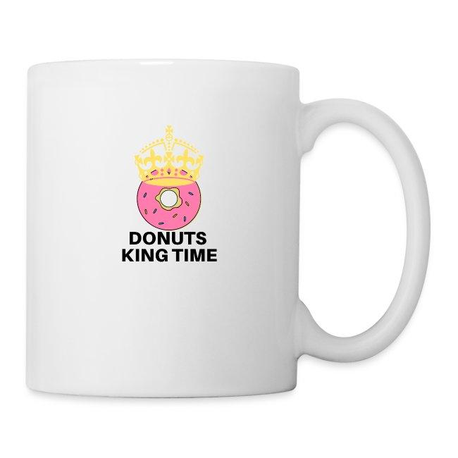 Mug Desing donuts king-Tazza Donuts King