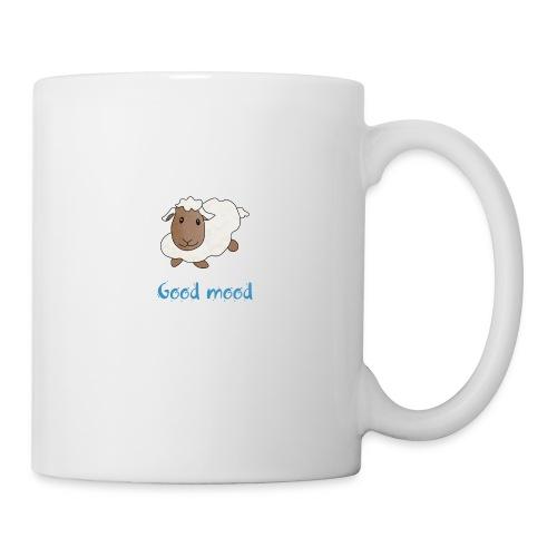 Nadège le petit mouton blanc - Mug blanc