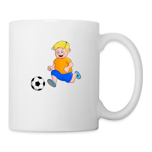 Junger Fußballer - Tasse