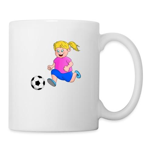 Fußball Mädchen - Tasse