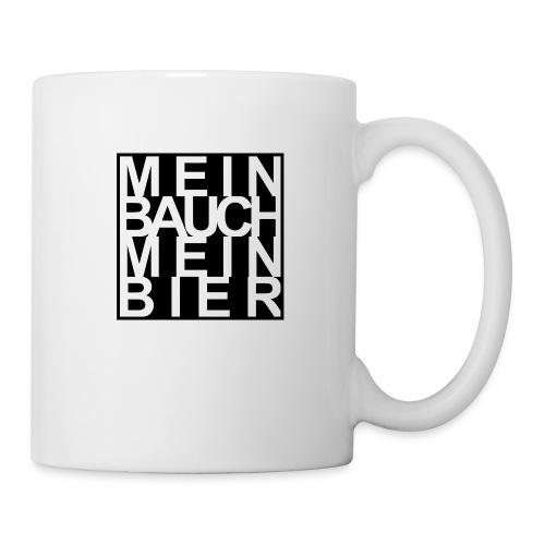 MEIN BAUCH MEIN BIER - Tasse