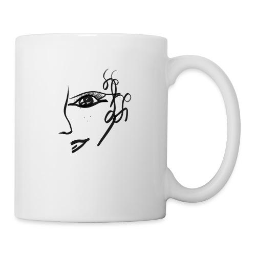 Gesicht - Tasse