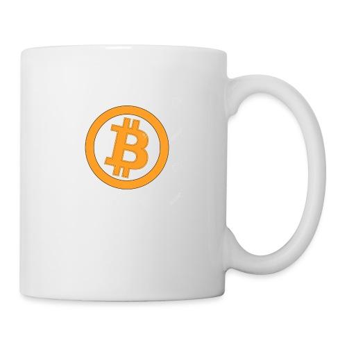 Bitcoin classique - Mug blanc