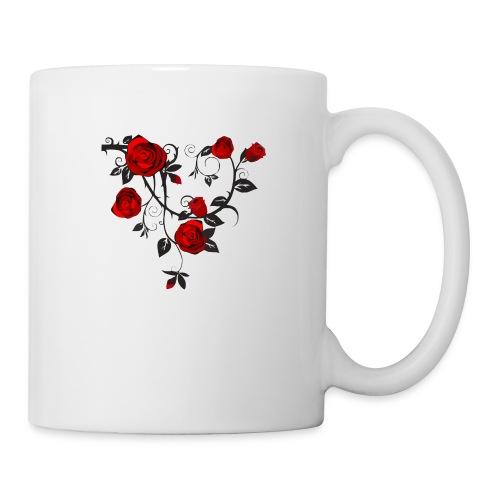 Rosenranken - Tasse