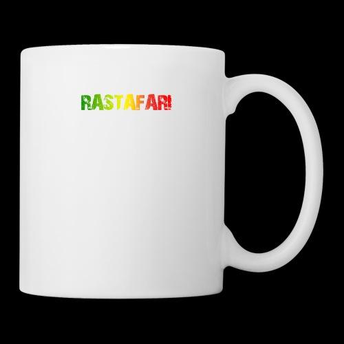 RASTAFARI - PEACE LOVE & UNITY - Tasse