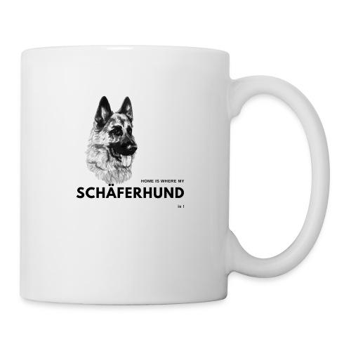 Home is where my Schäferhund is ! - Tasse