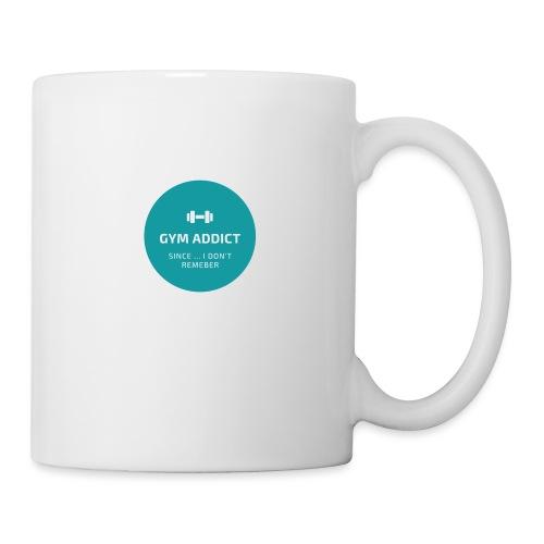 GYM adept - Mug blanc