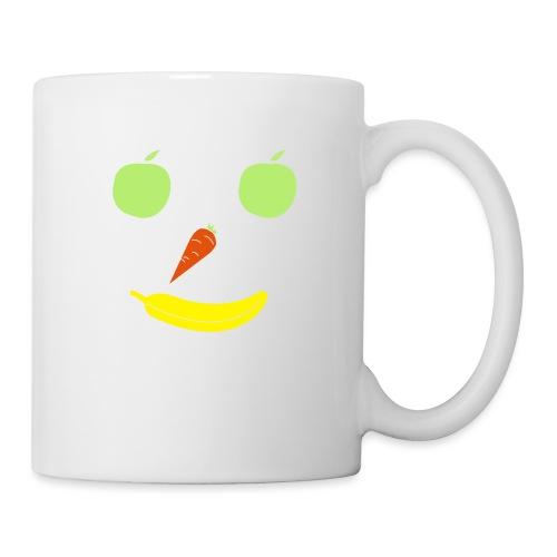 Obst Gemüse Smiley - Tasse