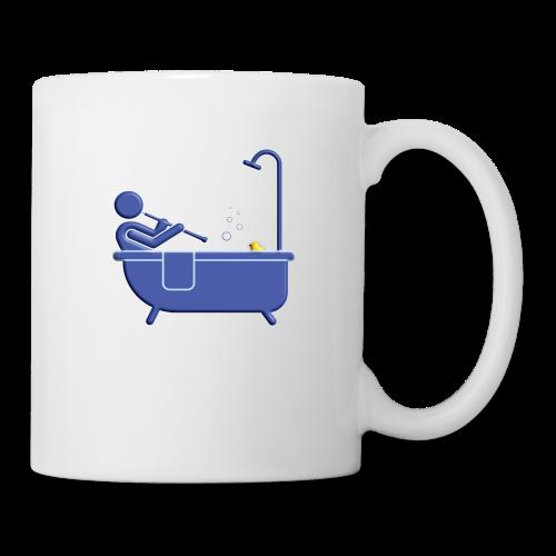 Badewanne blau - Tasse