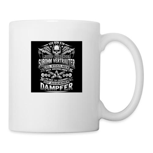 Ich bin ein Dampfer - Tasse